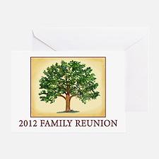 Family Reunion Blank Greeting Card