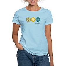 Peace Love Biomedical Engineering T-Shirt