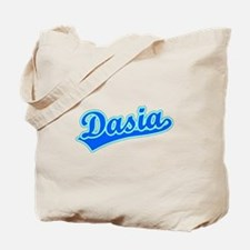 Retro Dasia (Blue) Tote Bag