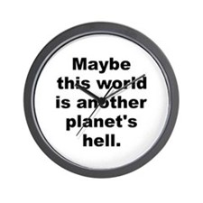 Another planet Wall Clock