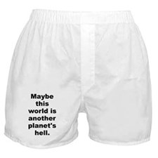 Another planet Boxer Shorts