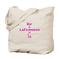 Kip + LaFawnduh = True Love Always Tote Bag