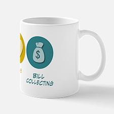 Peace Love Bill Collecting Mug