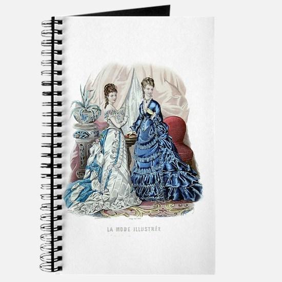 LA MODE ILLUSTREE - 1875 Journal