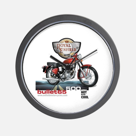 Style With Stamina Bullet 65 Wall Clock