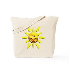 Smiling Happy Sun Tote Bag