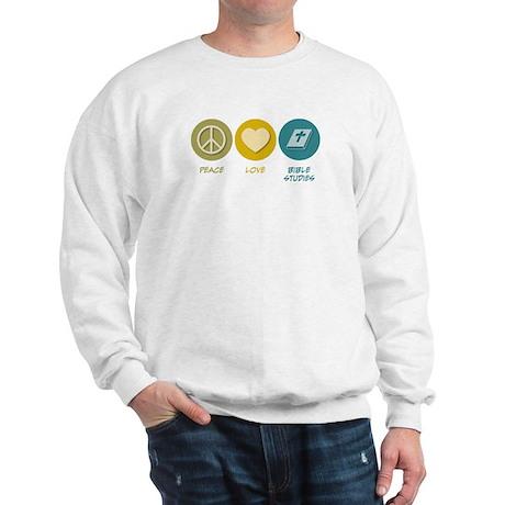Peace Love Bible Studies Sweatshirt
