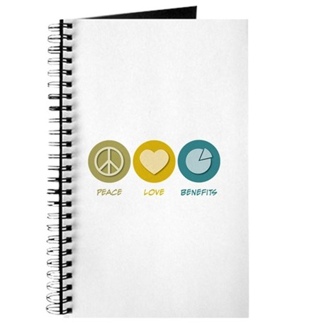 Peace Love Benefits Journal