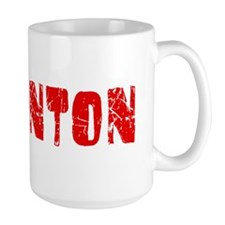 Edmonton Faded (Red) Ceramic Mugs