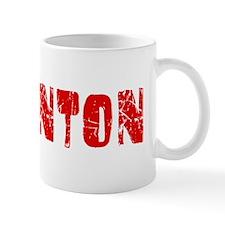 Edmonton Faded (Red) Small Mugs