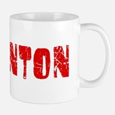 Edmonton Faded (Red) Small Mugs