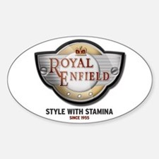 Style With Stamina Oval Decal