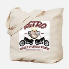 Retro Single Cylinder Power Tote Bag