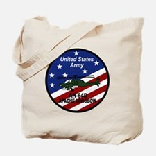 Cute Apache helicopter Tote Bag
