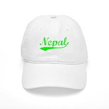 Vintage Nepal (Green) Baseball Cap