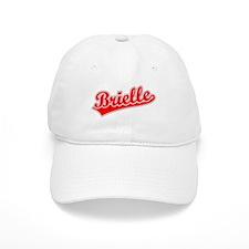 Retro Brielle (Red) Baseball Cap