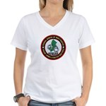 FBI Newark Women's V-Neck T-Shirt