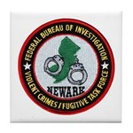 FBI Newark Tile Coaster