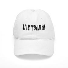 Vietnam Faded (Black) Baseball Cap