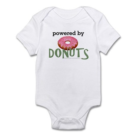 Powered By Donuts Infant Bodysuit