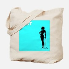 iHOT (cool-turquoise) Trendy Tote Bag (ipod)