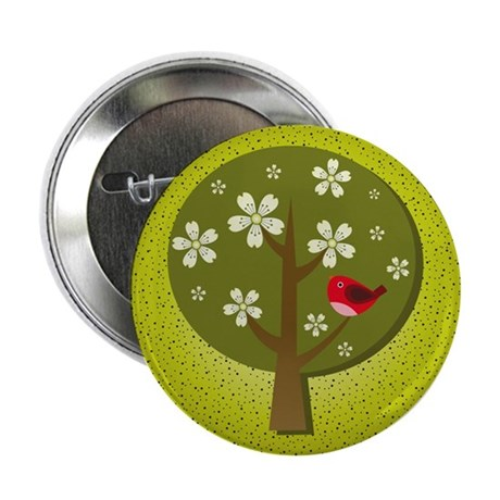 """Japanese Ume 2.25"""" Button (10 pack)"""