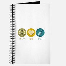 Peace Love Bass Journal