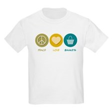 Peace Love Baskets T-Shirt