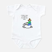 On the lamb Infant Bodysuit