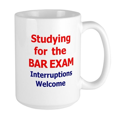 Bar Exam Large Mug