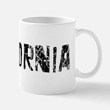 California Faded (Black) Mug