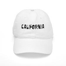 California Faded (Black) Baseball Cap