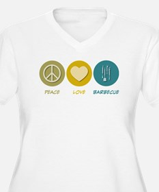 Peace Love Barbecue T-Shirt