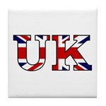 UK Lettering Tile Coaster