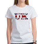UK Lettering Women's T-Shirt