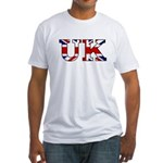 UK Lettering Fitted T-Shirt