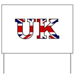 UK Lettering Yard Sign