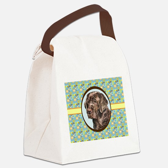 Chocolate Labrador Retriever Retr Canvas Lunch Bag