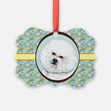 Bichon Frise Retro Ornament