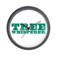 Tree Whisperer Wall Clock