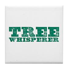 Tree Whisperer Tile Coaster