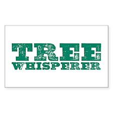 Tree Whisperer Rectangle Decal