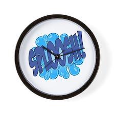 SPLOOSH! Wall Clock