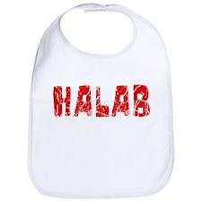 Halab Faded (Red) Bib