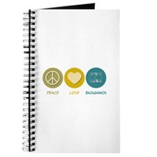 Peace Love Backgammon Journal