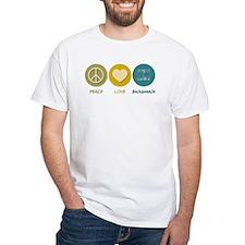 Peace Love Backgammon Shirt