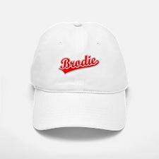 Retro Brodie (Red) Baseball Baseball Cap