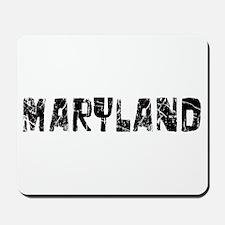 Maryland Faded (Black) Mousepad