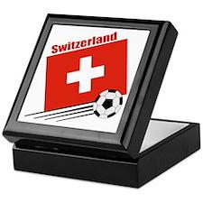 Switzerland Soccer Team Keepsake Box