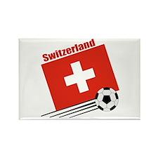 Switzerland Soccer Team Rectangle Magnet (100 pack